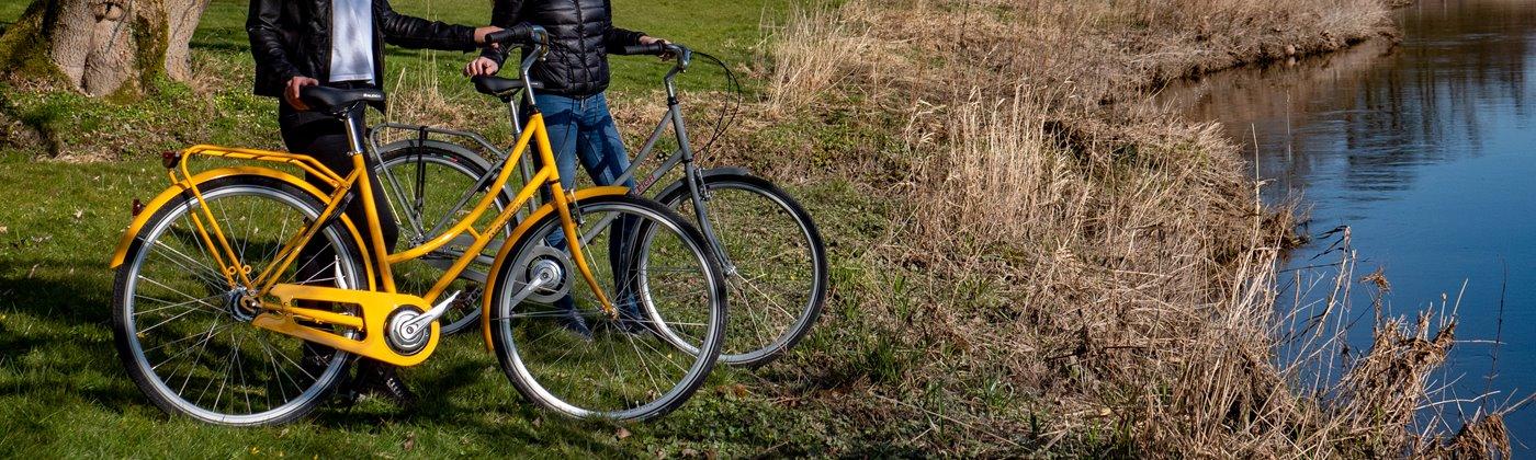 Retromoderne stålcykler til hverdagen